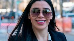 Vợ xinh đẹp của trùm ma túy El Chapo bất ngờ xuất hiện trên sóng truyền hình Mỹ