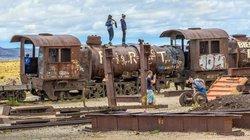Đột nhập nghĩa địa tàu hỏa khổng lồ giữa sa mạc