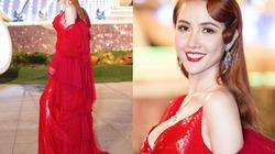 Hoa hậu quê Tiền Giang diện sexy, đeo nhẫn kim cương hơn 10 tỷ đi sự kiện