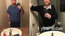 Sau 3 năm cai rượu, người đàn ông đã thay đổi kỳ lạ thế này!