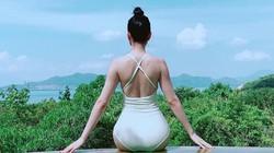 Clip: Hoa hậu có vòng 3 cả mét chăm diện bikini nhất showbiz Việt
