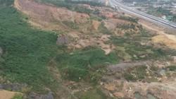 """Clip: """"Đất tặc"""" phá nát đồi rừng, ngay gần trụ sở UBND phường"""