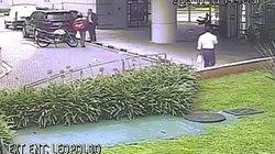 Video: Thấy sát thủ đến gần, vệ sĩ dùng thân che cho chủ, rút súng bắn như phim