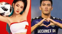 DJ nóng bỏng miền Tây tung ảnh sexy, nhắn nhủ Tiến Linh điều đặc biệt trước trận Thái Lan