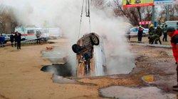 Nga: Lái xe rơi xuống hố tử thần, chết thảm vì... nước nóng