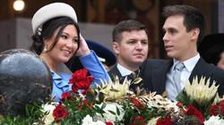 Ảnh: Cô dâu gốc Việt của hoàng tử Monaco lần đầu xuất hiện cùng Hoàng gia trong ngày lễ trọng