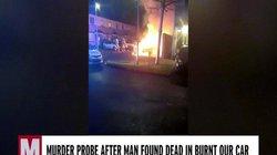 Ireland: Xe hơi bốc cháy ngùn ngụt, bên trong phát hiện xác chết bị đạn bắn vào đầu