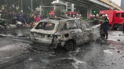 Lời kể của nữ sinh thoát chết trong vụ xe Mercedes bốc cháy