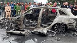 Danh tính nạn nhân tử vong trong vụ cháy xe Mercedes ở Lê Văn Lương