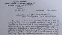 Phó Thủ tướng gửi thư khen CSGT cứu nạn nhân vụ cháy ô tô Mercedes.