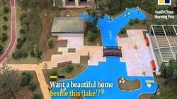 """TQ: Mua chung cư với lời hứa """"cảnh quan công viên"""", sốc với cảnh khi nhận nhà"""