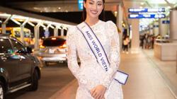 """Hoa hậu Lương Thùy Linh và dàn mỹ nhân gây """"náo loạn"""" sân bay ngày đi thi Miss World 2019"""