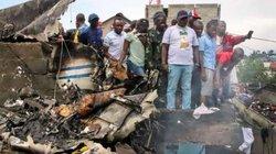 Máy bay chở 18 người rơi, 24 người thiệt mạng