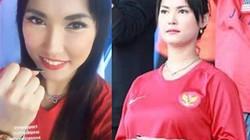 Maria Ozawa ra sân ăn mừng Thái Lan thua muối mặt Indonesia