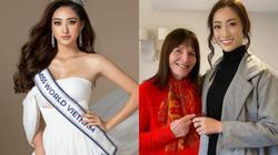 """Lương Thùy Linh xúc động vì được """"người phụ nữ quyền lực"""" Miss World khen điều này"""