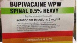 Dừng xuất thuốc gây tê nghi gây tai biến sản khoa ở Đà Nẵng