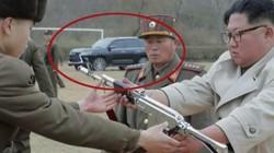 Lộ diện xe sang đời mới nhất trong bức ảnh chụp ông Kim Jong Un