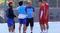Trọng Hùng, Tấn Sinh ra sân đấu U22 Lào, HLV Park Hang-seo trả lời!