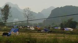 Cao Bằng: Động đất gây lở núi, người dân kéo nhau di tản