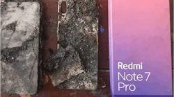 Thêm một điện thoại Redmi Note 7 Pro bốc cháy trong tháng 11