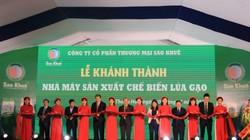 Thanh Hoá: Khánh thành nhà máy chế biến lúa gạo 32 nghìn tấn
