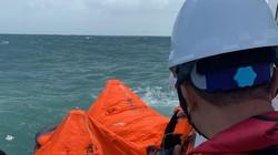 Tàu chở 2.950 tấn clinker bị chìm, thuyền trưởng tử vong, 10 người suýt chết