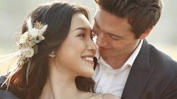 Hoàng Oanh tung ảnh cưới lãng mạn bên chồng Tây