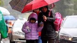 Gió mùa đông bắc tràn về, miền Bắc trời rét, miền Trung có mưa