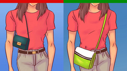 Chọn túi xách che khuyết điểm, tôn ưu điểm cho 6 dáng phổ biến