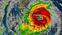 Trận U22 Việt Nam - Singapore đang bị siêu bão Kammuri tăng sức mạnh đe dọa