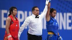 Quật ngã võ sĩ Thái Lan, Nguyễn Thị Trang giành HCV SEA Games 30