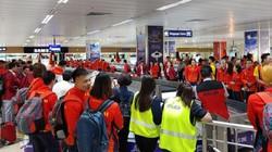 Máy bay chở VĐV Việt Nam dự SEA Games 30 gặp sự cố