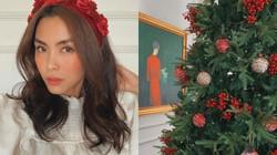 """Vợ chồng Cường Đô La, Tăng Thanh Hà... trang trí Giáng sinh trong """"siêu biệt thự"""""""