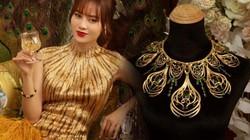 """Vừa về """"làm dâu"""", Lan Ngọc đã sở hữu vòng vàng là báu vật lâu đời của nhà chồng"""