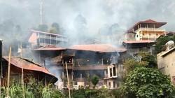 Cháy lớn lúc rạng sáng, thiêu rụi 5 căn nhà homestay trên vùng hồ Ba Bể