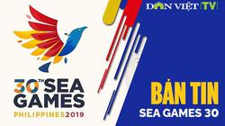 Bản tin SEA Games: Hoãn nhiều môn thi đấu vì siêu bão Kammuri