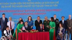 Khởi công dự án xử lý ô nhiễm dioxin tại sân bay Biên Hòa