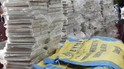 Lô ma túy gần 180 tỷ đồng ngụy trang trong 6 bao tải