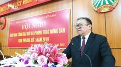 Chủ tịch Hội ND Việt Nam: Chấm dứt tình trạng cán bộ xa nông dân