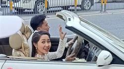"""""""Người tình tin đồn"""" của Ninh Dương Lan Ngọc bí mật kết hôn, đón dâu bằng xe mui trần?"""