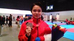 Nữ võ sĩ karatedo Việt Nam bật khóc, trải lòng sau khi thua VĐV Indonesia