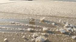 Lạng Sơn: Nhiệt độ giảm sâu, nhiều nơi xuất hiện băng giá