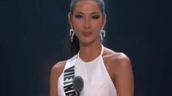 Dõng dạc đọc thành ngữ tại Hoa hậu Hoàn vũ 2019, Hoàng Thùy vẫn trượt top 10 khiến fan tiếc nuối