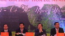 Bộ VHTTDL công bố Năm du lịch quốc gia 2020 – Hoa Lư, Ninh Bình