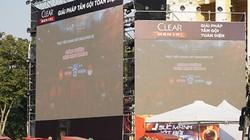 Màn hình khủng phục vụ khán giả Thủ đô xem chung kết bóng đá SEA Games 30