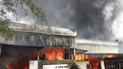 Đà Nẵng: Cháy lớn tại xưởng gỗ, thiệt hại hàng tỷ đồng