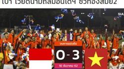 Báo Thái: Vua đông Nam Á Việt Nam vô địch theo cách quá vĩ đại