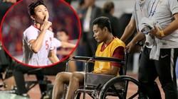"""Khiến """"Messi Indonesia"""" ngồi xe lăn, Đoàn Văn Hậu nói điều bất ngờ"""