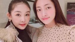 """""""Người đẹp thị phi"""" Lê Âu Ngân Anh qua tiếp lửa cho Lương Thùy Linh tại Miss World 2019"""