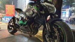 Xe Kawasaki 300 triệu bị tạm giữ vì tài xế cổ vũ bóng đá quá khích